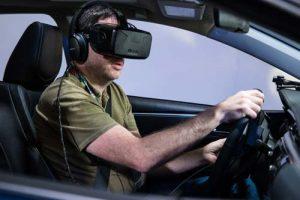 virtual reality VR rijbewijs rijles