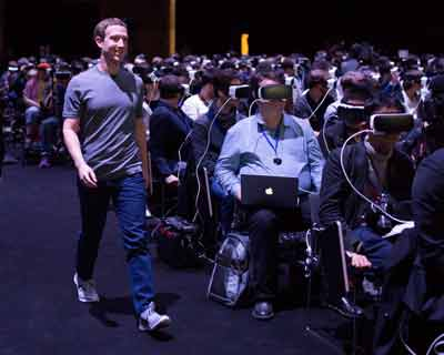 virtual reality VR Facebook
